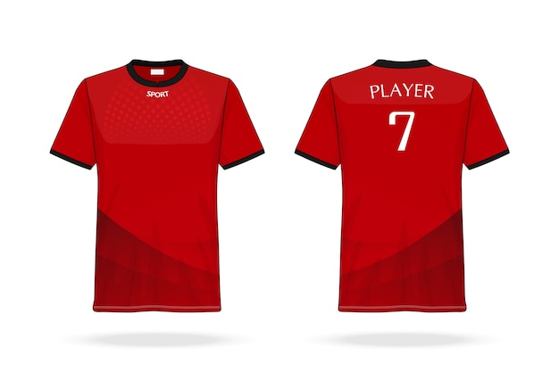 Spécification football sport Vecteur Premium