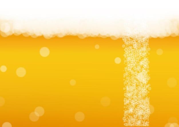 Splash Bière. Contexte Pour La Bière Artisanale. Vecteur Premium