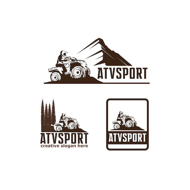 Sport vtt Vecteur Premium