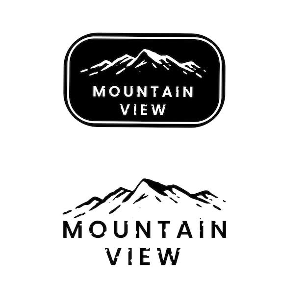Stickers Nature Et Camping Vecteur gratuit