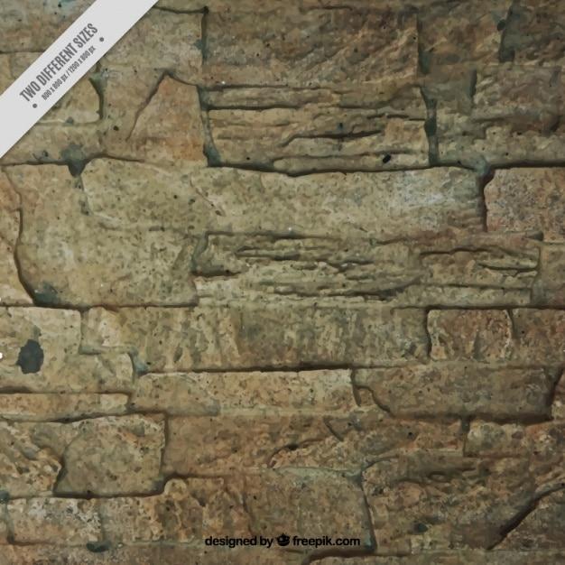 Stone Wall Texture Vecteur gratuit