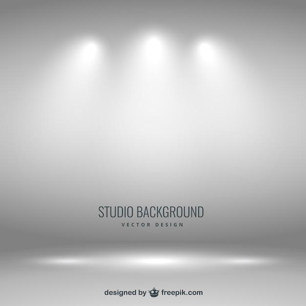 Studio De Photographie Fond Vecteur gratuit