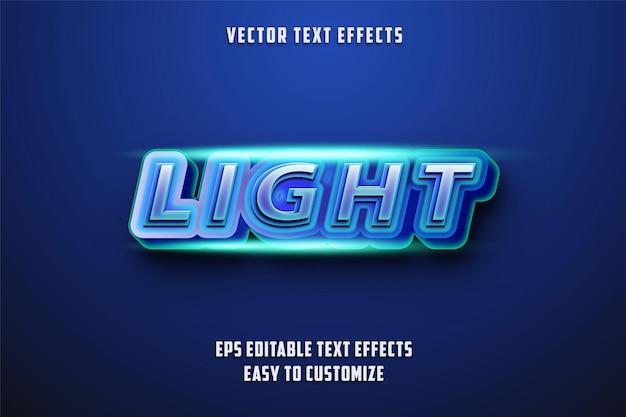 Style D'effets De Texte Modifiables Vecteur Premium