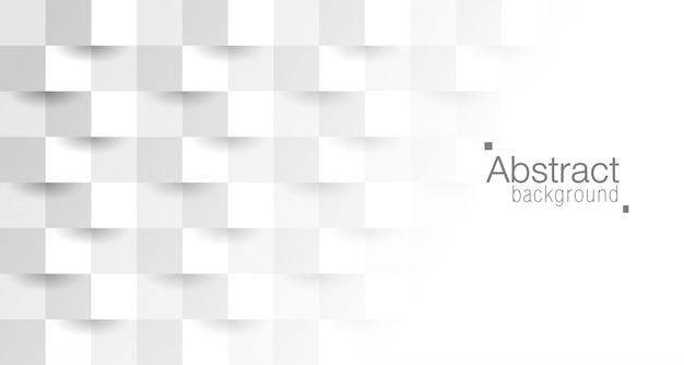 Style de papier 3d abstrait. Vecteur Premium