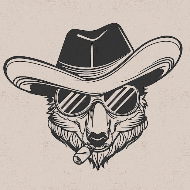 Style De Personnage De Gangster Mystérieux Vecteur gratuit