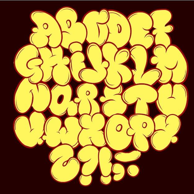 Style De Rue Hip Hop. Gratuit Pour Wall City Urban. Style Moderne Vecteur Premium