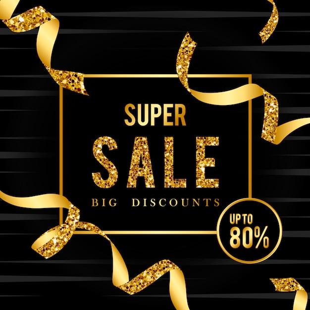 Super vente 80% sur le vecteur de signe Vecteur gratuit