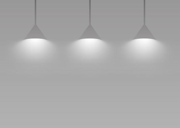 Suspension sur gris Vecteur gratuit