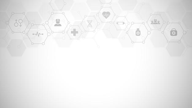 Symbole De Chimie Abstraite Sur Fond Gris Doux Avec Des Formules Chimiques Et Des Structures Moléculaires, Concept Et Idée Pour La Technologie De La Science Et De L'innovation. Vecteur Premium