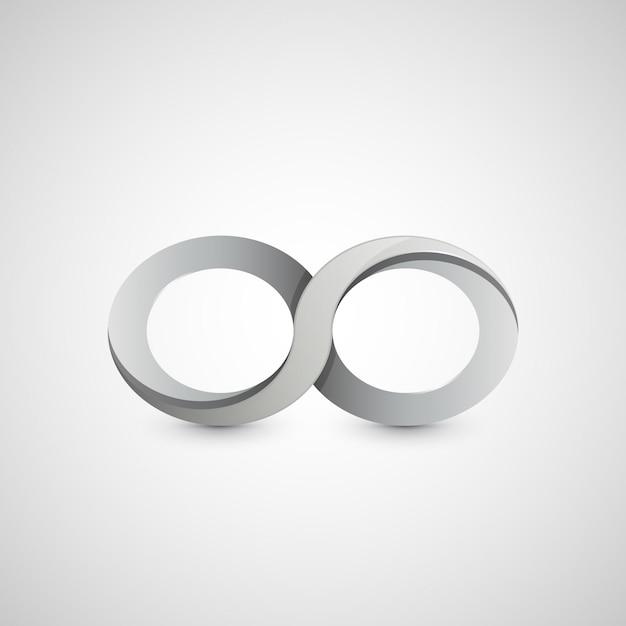 Symbole De L'infini, Conception Graphique Vecteur Premium