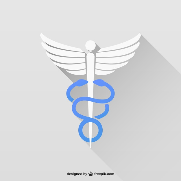 Symbole de médecine Vecteur gratuit