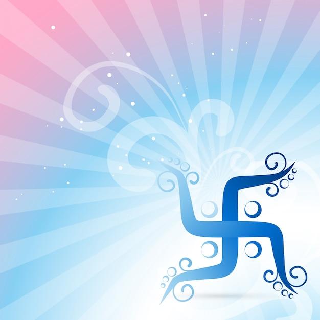 Symbole swastik Vecteur gratuit