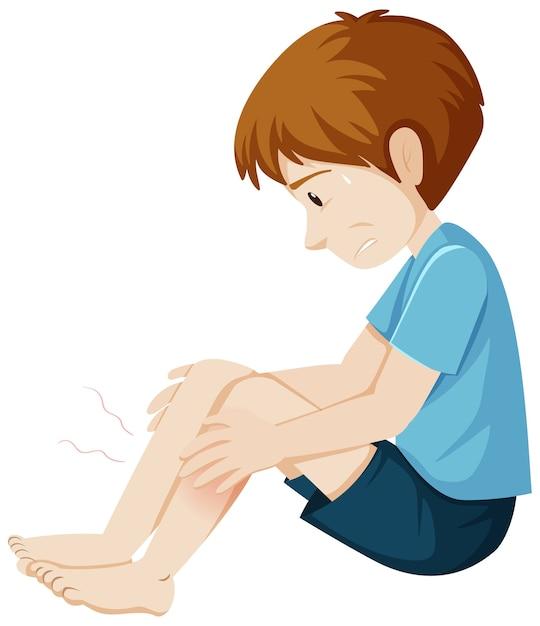 Symptômes D'engourdissement Corporel Vecteur gratuit