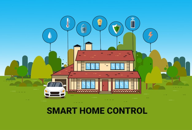 Système de domotique intelligent système d\'automatisation de ...