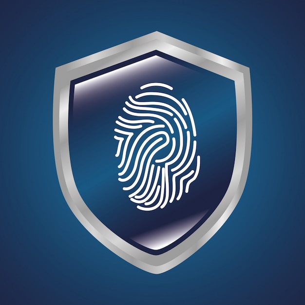 Système de sécurité de surveillance Vecteur Premium