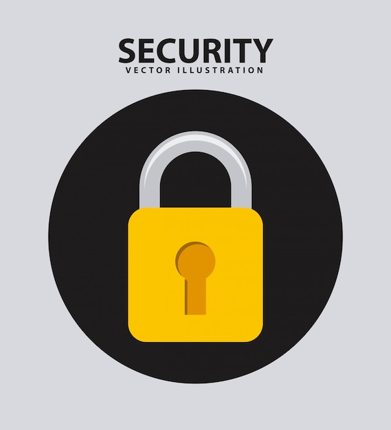 Système De Sécurité Vecteur Premium