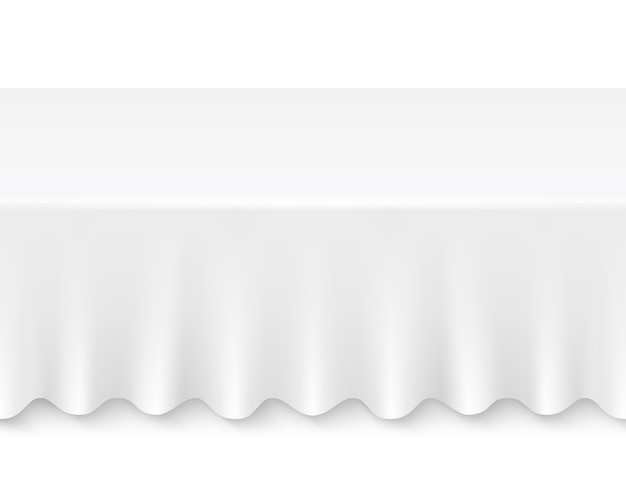 Table de nappe Vecteur gratuit