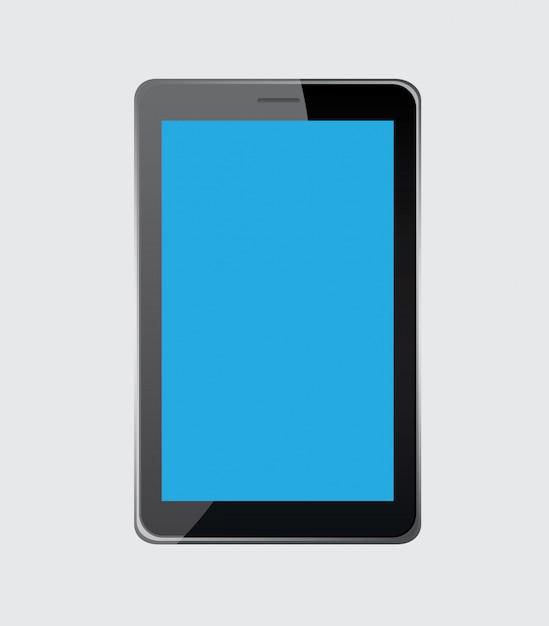 Tablette numérique Vecteur gratuit