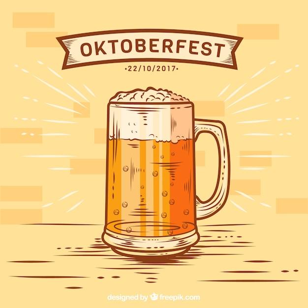 Tasse à La Bière Vecteur gratuit