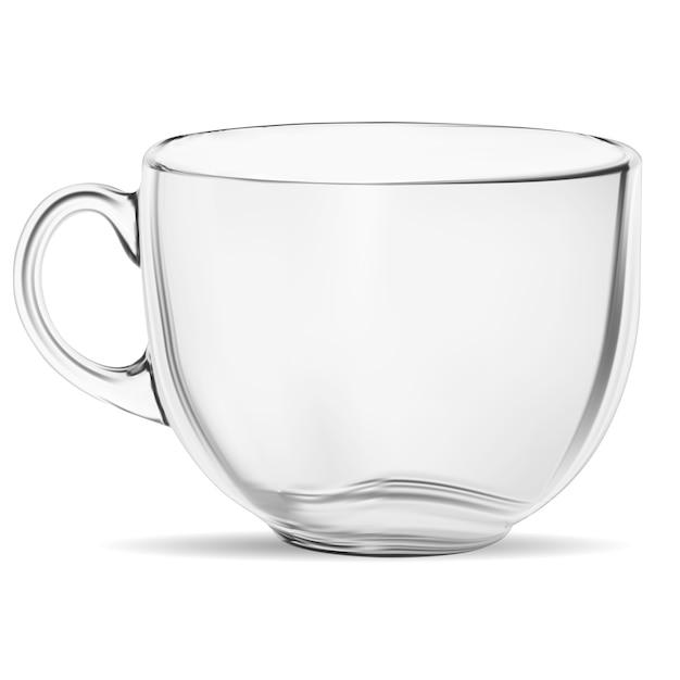 Tasse à café claire Vecteur Premium