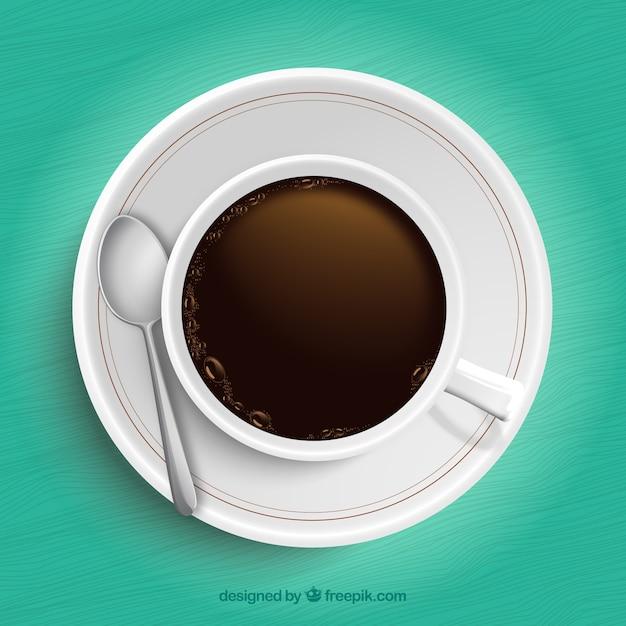 Vue Tasse Des Café Vecteurs Gratuitement En DessusTélécharger De 0Pk8wOn