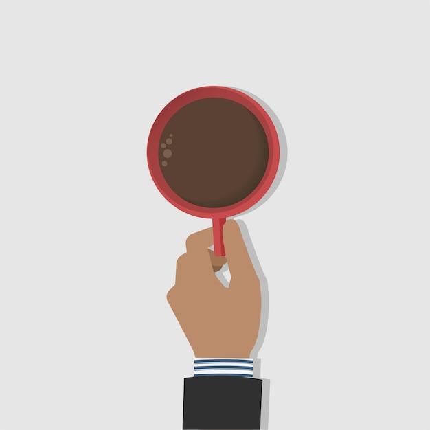 Tasse à café Vecteur gratuit