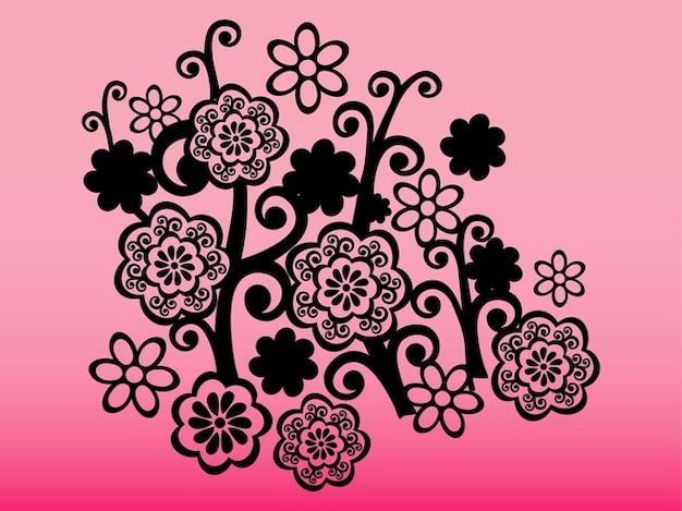 tatouage d u00e9coratif avec des fleurs