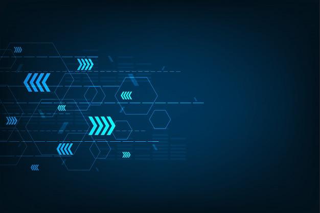 Technologie de base de la communication. Vecteur Premium