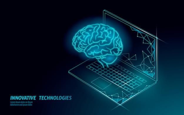 Technologie De Service De Reconnaissance Vocale Assistant Virtuel. Prise En Charge Des Robots D'intelligence Artificielle Ia. Cerveau De Chatbot Sur L'illustration Du Système Portable. Vecteur Premium
