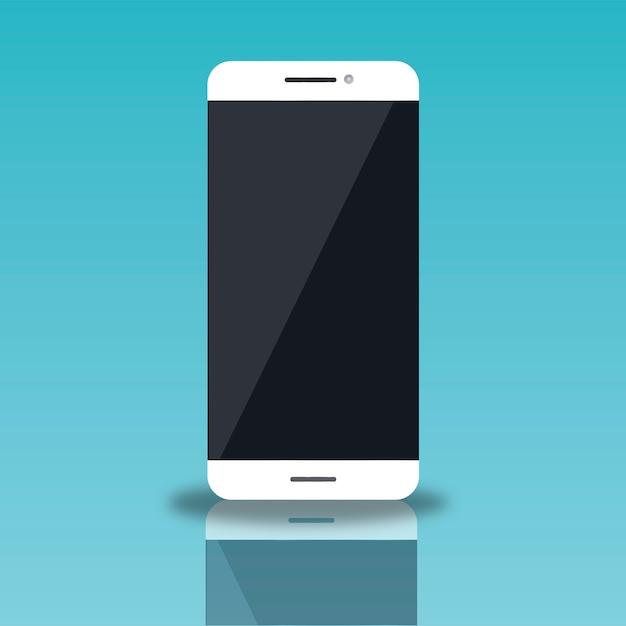 Téléphone cellulaire mobile Vecteur gratuit