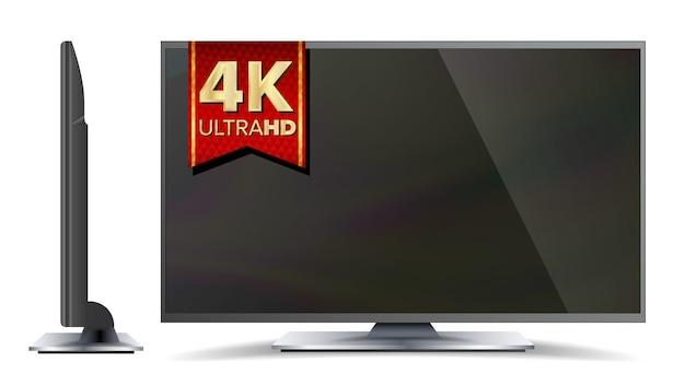 Télévision 4k Vecteur Premium
