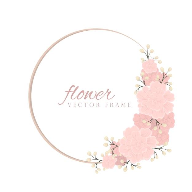 Tendance Motif Floral Sans Soudure En Illustration Vectorielle Vecteur gratuit