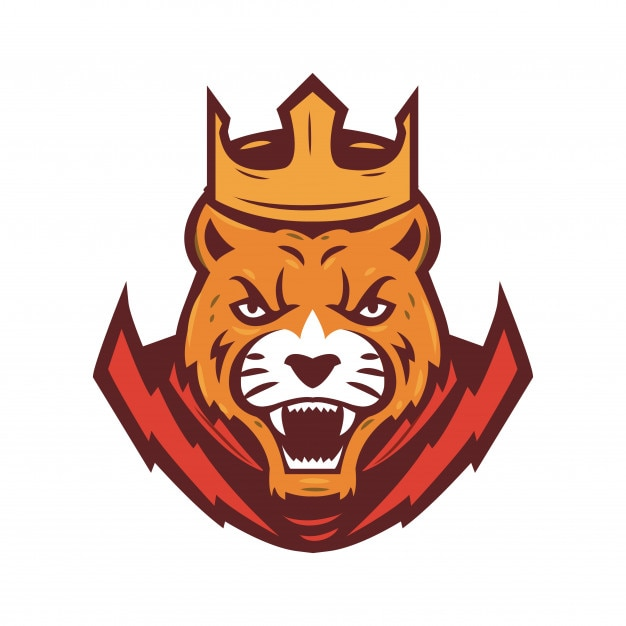 Préférence Tête de tigre avec logo sport de la Couronne | Télécharger des  DS39
