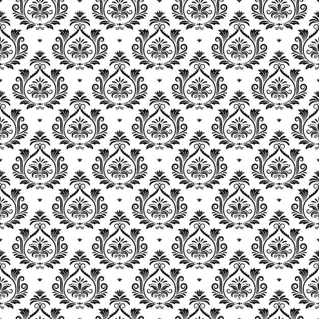 Texture Arabesque De Vecteur Oriental. Conception Décorative Arabe, Illustration De Toile De Fond De Décor National Traditionnel Vecteur gratuit