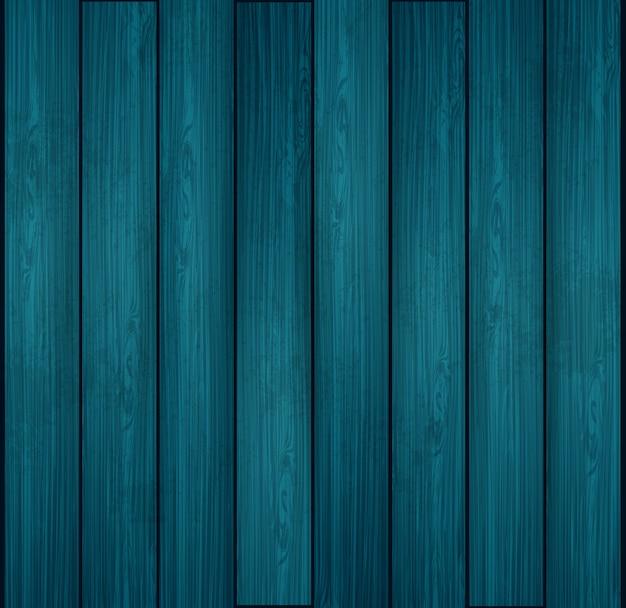 Texture En Bois Bleu Vecteur Premium