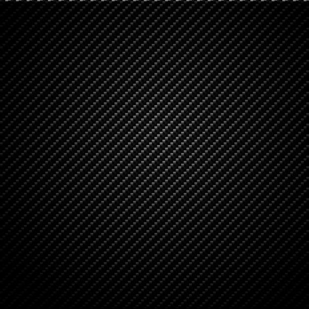 Texture carbone métallique sans soudure Vecteur Premium