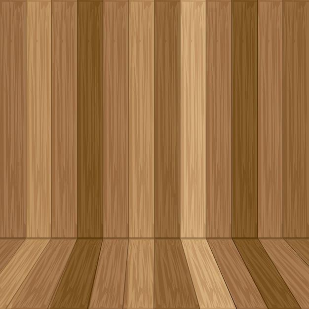 Texture du bois Vecteur Premium