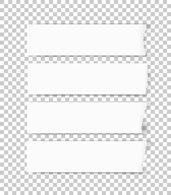 Texture du papier déchiré Vecteur Premium