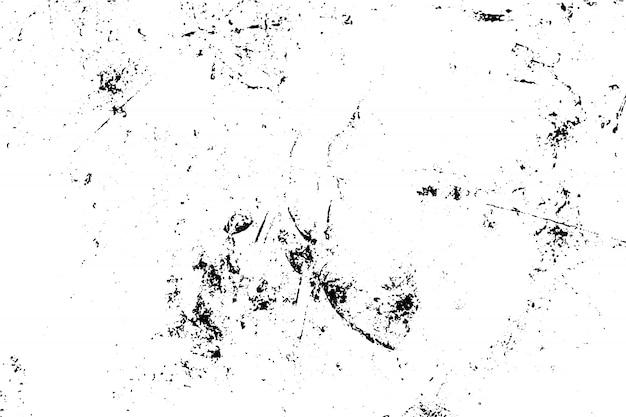 Texture grunge noir et blanc Vecteur Premium