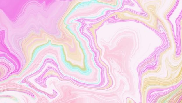 Texture de marbre liquide Vecteur Premium