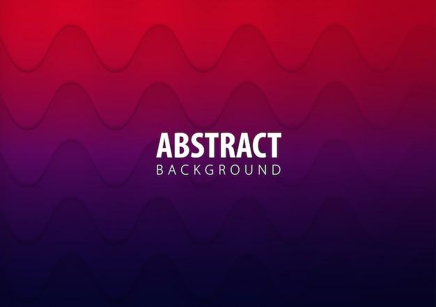 Texture d'onde abstrait avec dégradé de couleur Vecteur Premium
