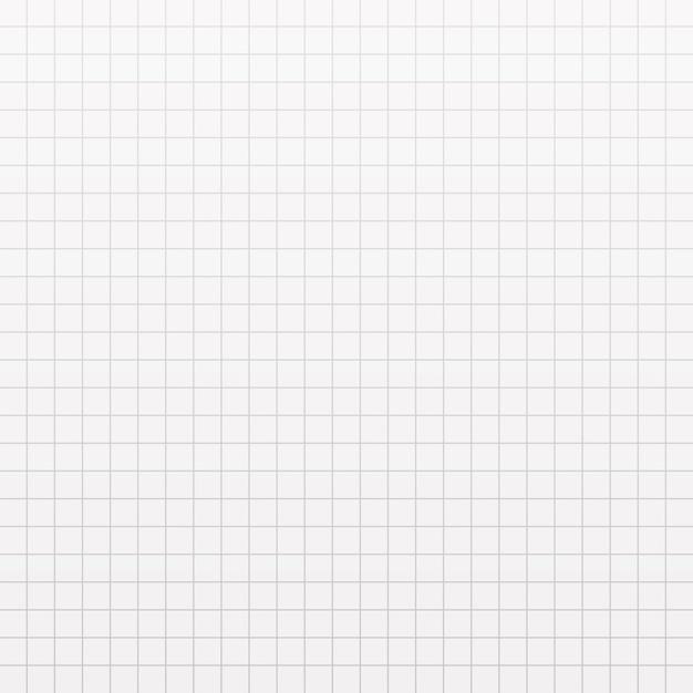 Texture De Papier Carré. Page De Cahier En Cage. Vecteur Premium