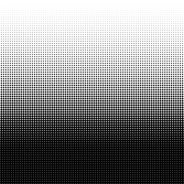 Texture de points de demi-teintes Vecteur Premium