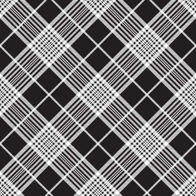 Texture de tissu sans couture fond foncé Vecteur Premium