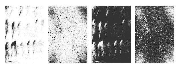 Textures De Cadres Abstraits Grunge Sale Mis En Arrière-plan Vecteur gratuit