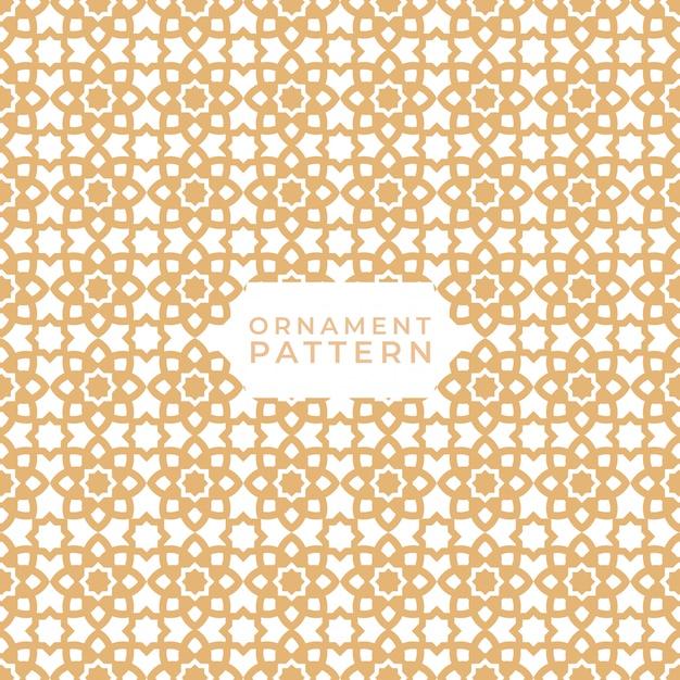 Textures de motifs géométriques islamiques sans soudure Vecteur Premium