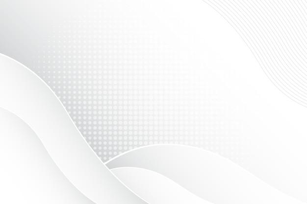 Thème De Fond Abstrait Blanc Vecteur gratuit