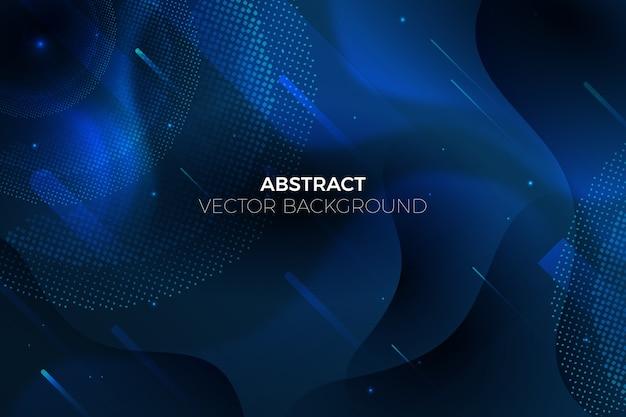 Thème De Fond Bleu Classique Abstrait Vecteur gratuit
