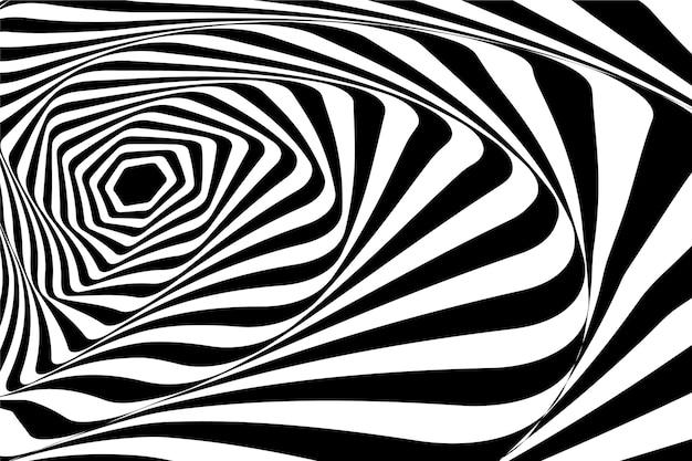 Thème D'illusion D'optique Psychédélique Vecteur gratuit