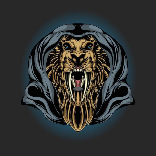 Tigre de l'est Vecteur Premium